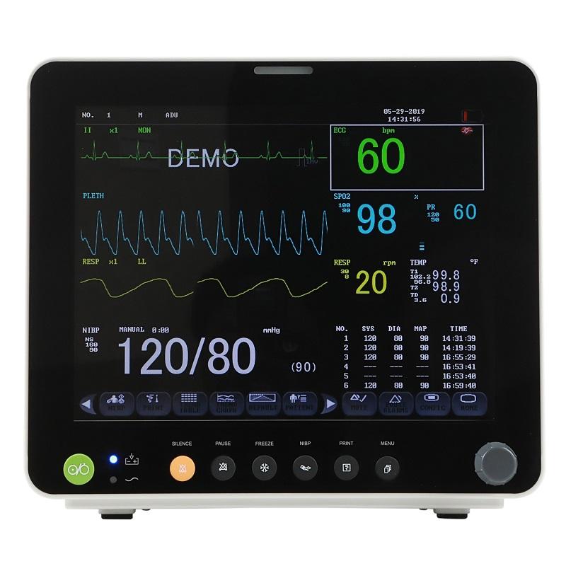 Monitor functii vitale SWN-600 cu monitorizare SPO2, NIBP & ECG